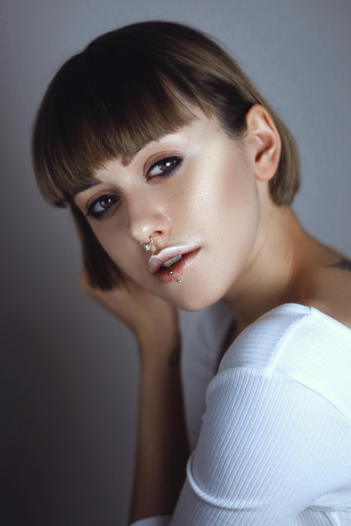 Sara Mun Enrica Brescia Make Up Portraits